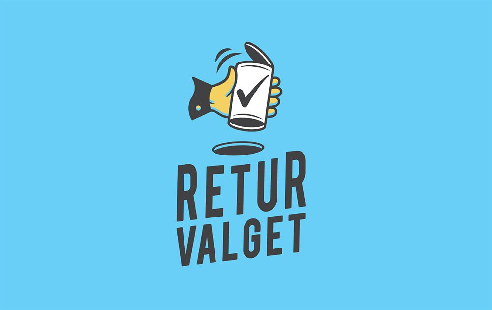 Returvalget logo klikk for å se video